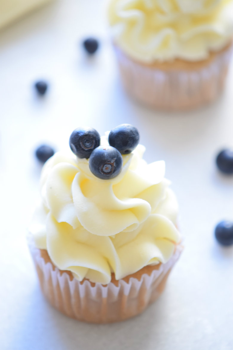 Mind Blowing Blueberry Cupcakes Recipe